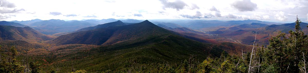 In the White Mountain National Forest.