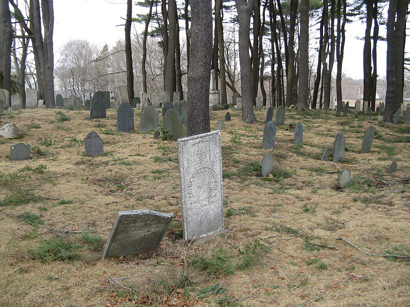 The Old Burial Ground in Manchester-by-the-Sea, Mass. (Photo by John Phelan)