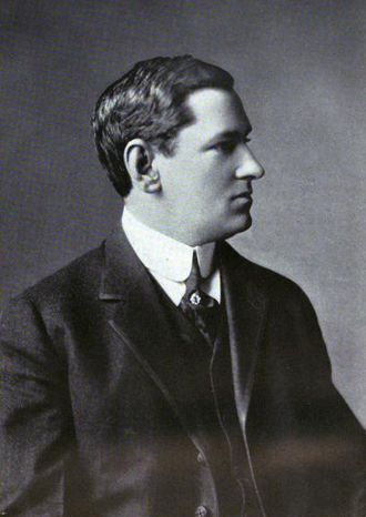 James Michael Curley in 1922.