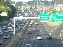 On Route 95 in Stamford, Conn., among the most congested stretches of a crowded road.