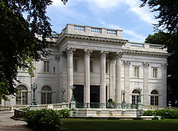 Marble House, Newport, R.I., built in 1888-92.