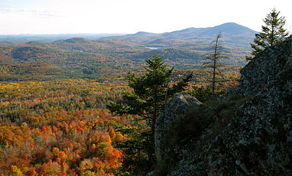 Mt. Kearsage, in central New Hampshire, near Donald Hall's home.