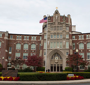 Harkins Hall at Providence College.