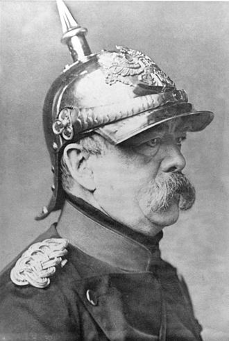 Otto von Bismarck, who unified the German states in the 19th Century.