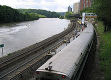 Commuter rail in Westchester County, N.Y.