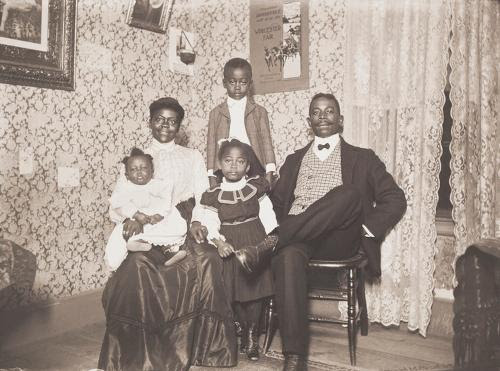 """From """"Rediscovering an American Community of Color: The Photographs of William Bullard,'' at the Worcester Art Museum, through Feb. 25. Mr. Bullard took pictures of people of African-American and Native-American descent in Worcester in 1897-1917."""