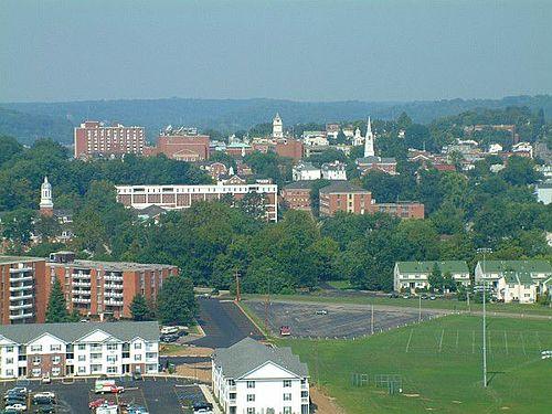 View of Athens, Ohio.