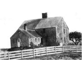 The John Alden House, built in 1653, when Duxbury was becoming a sort of suburb of still-small Plymouth.