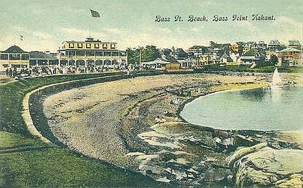 Postcard from around 1910, when Nahant was best known as a summer resort.