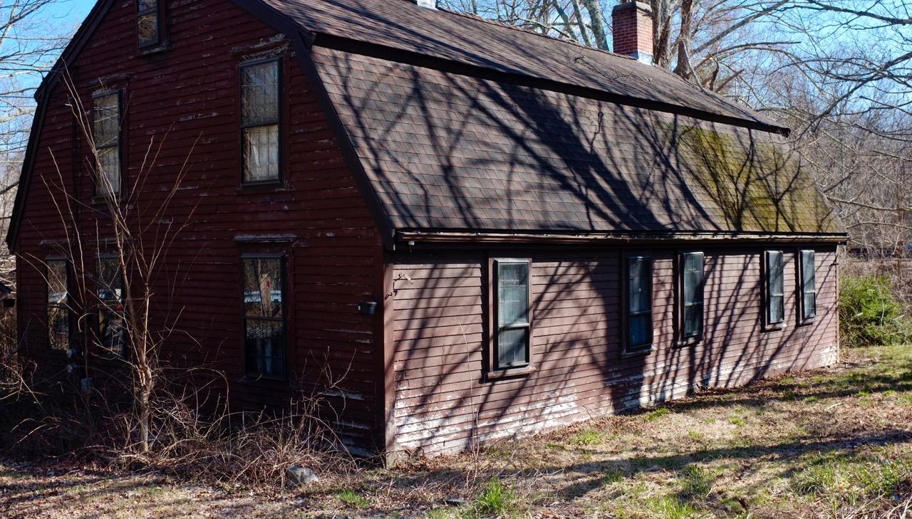Amos Arnold house, Arnold Mills, Sneech Pond Road, Cumberland, R.I.