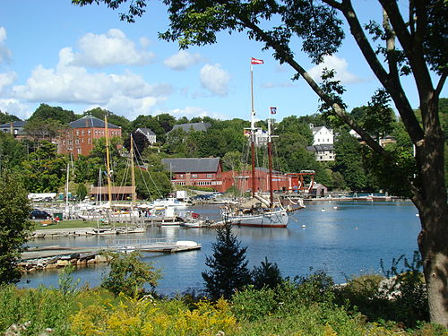 Rockport Harbor. In 2008, Forbes magazine named Rockport the prettiest town in America.