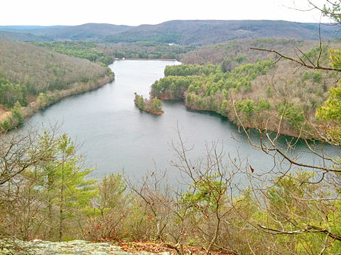 Lake McDonough, in the Litchfield Hills.