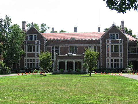 The Waveny Mansion, in New Canaan.