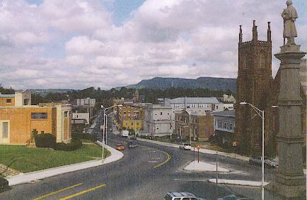 Meriden, Conn., a heavily Democratic city that just rejected a property-tax increase.