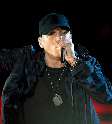 """Eminem, who boosted the 'stan' sentiment with his song """"Stan'' in 2000."""