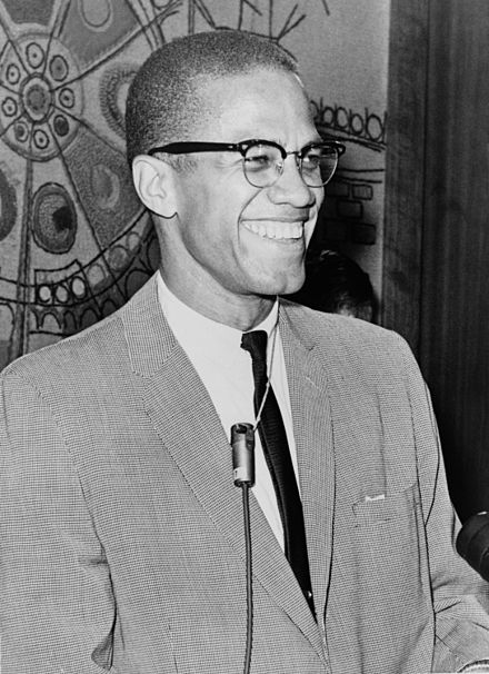 Malcolm X -- a  firm believer in self-reliance.
