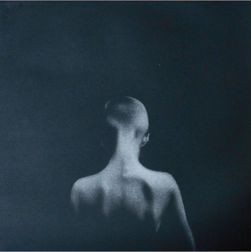 """""""Then III"""" (mezzotint print), by Cleo Wilkinson, in the """"Footprint International Exhibition 2018,'' at the Center for Contemporary Printmaking, Norwalk, Conn.,, through Aug. 26. The show showcases the current trends in printmaking within one square foot configuration."""