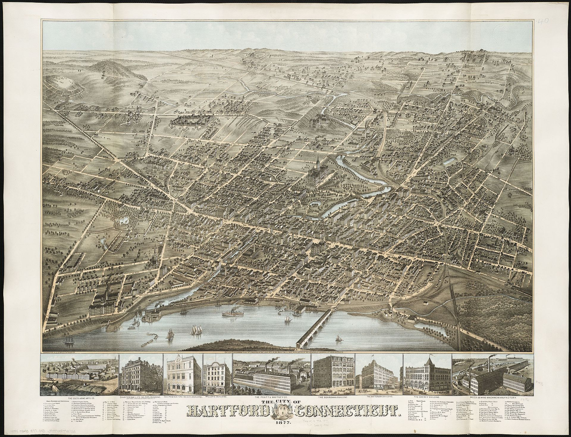 Hartford in 1877, as the nation came out of depression and the Industrial Revolution roared,especially in southern New England.