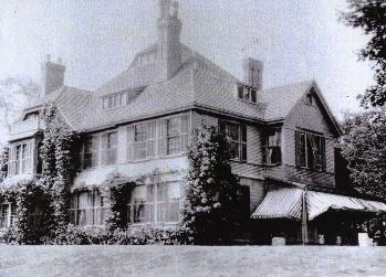 Highfield Hall some decades ago.