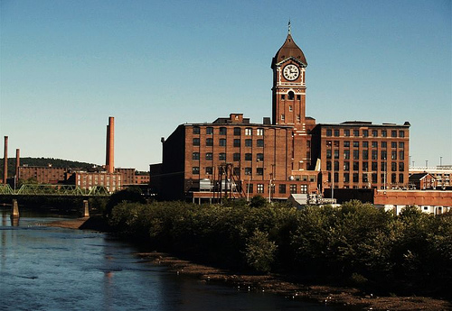 The Ayer Mill, in Lawrence.