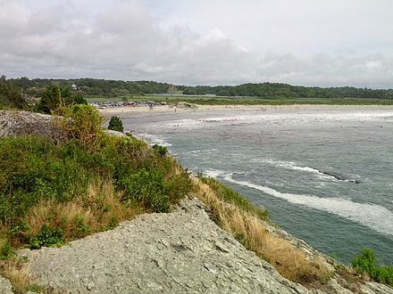 Second Beach, in Middletown.