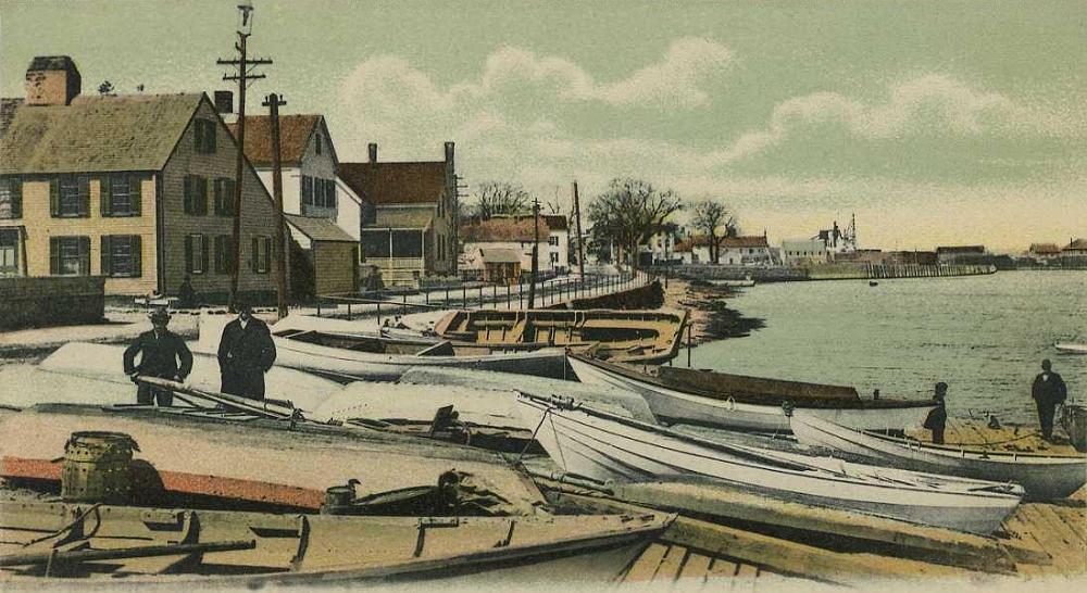 Joppa Landing, in Newburyport, Mass., once a major China Trade port.