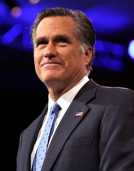 Utah Sen.-elect Mitt Romney, the former Massachusetts governor and presidential candidate.