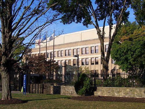 Pratt & Whitney's headquarters, in East Hartford.