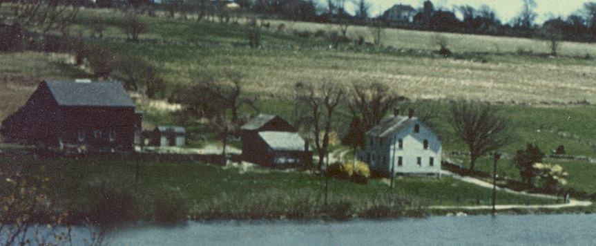 The farm of the author's maternal grandparents.