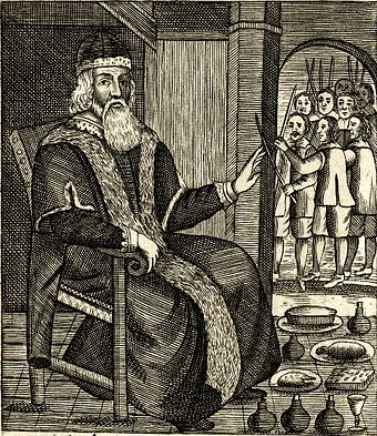 The Examination and Trial of    Father Christmas  , (1686),  published after Christmas was reinstated as a holy day in England.