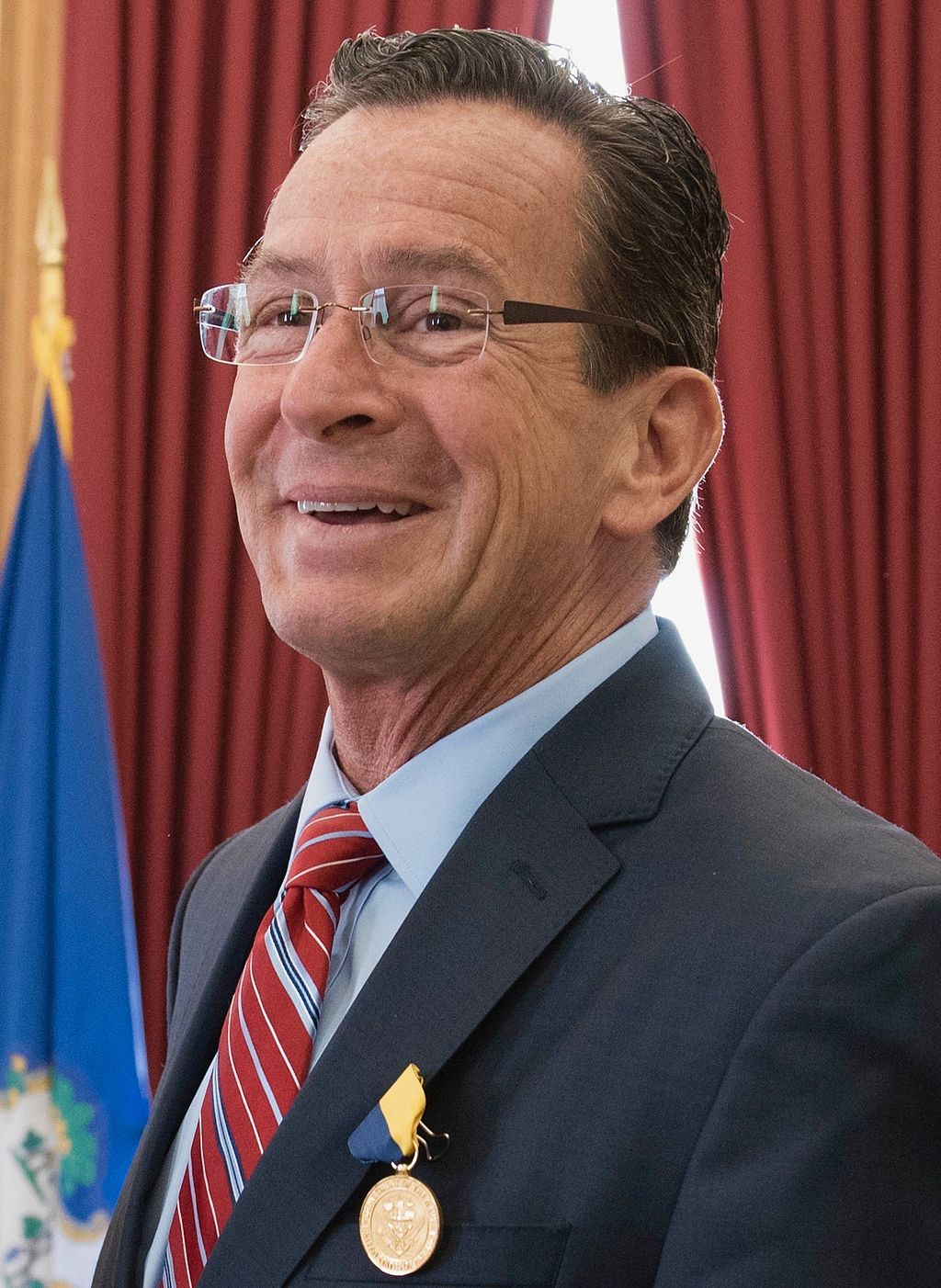 Gov. Dannel Malloy in 2016,