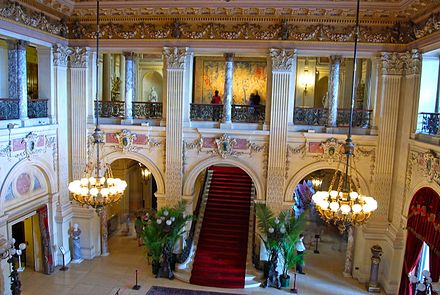 The Great Hall of The Breakers.