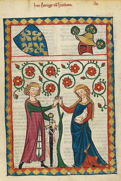 400px-Codex_Manesse_Bernger_von_Horheim.jpg