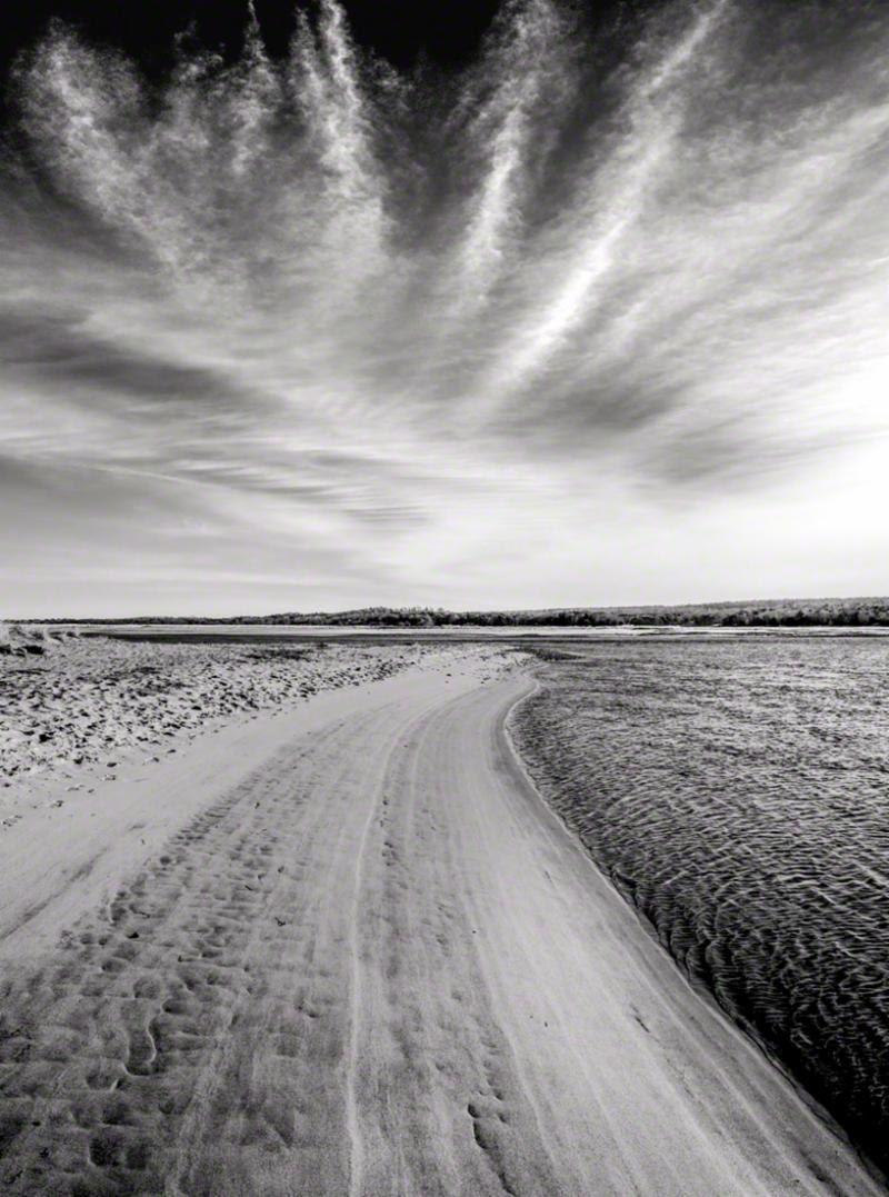 """Clouds Over Town Neck Beach, Sandwich, Cape Cod,'' by Bobby Baker. Copyright Bobby Baker Fine Art."