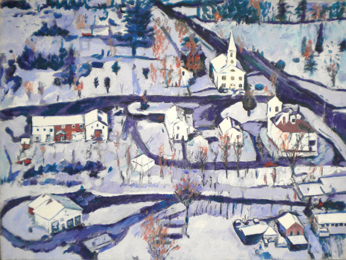 """Winter Blues,'' by Nancy Spears Whitcomb"
