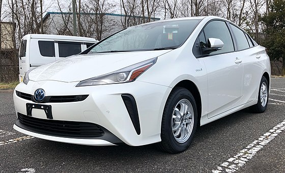 A Prius hybrid car. You tend to find them in affluent suburbs.