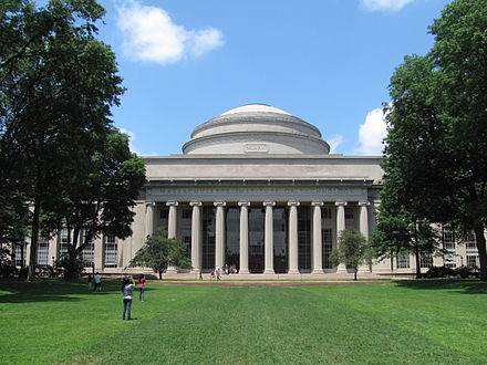 On the Massachusetts Institute of Technology campus, in Cambridge, Mass .