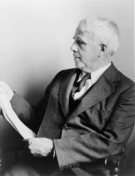 Robert Frost in 1941.
