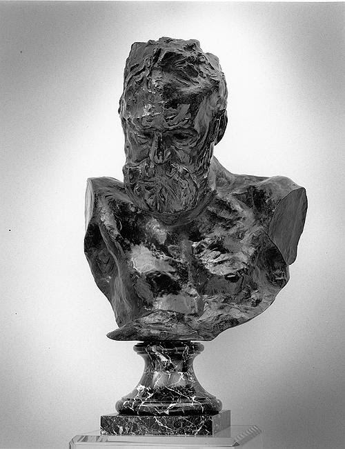 """Heroic Bust of Victor Hugo'' (1802-85 and author of  Les Miserables,  etc.), by Auguste Rodin (1840-1917), in the show ""Rodin: Truth, Form, Life,'' through April 7 at the Iris and B. Gerald Cantor Art Gallery at Holy Cross College, whose campus looms over the old industrial city of Worcester, which is enjoying a downtown revival. Meanwhile, the surprisingly extensive Worcester Art Museum merits multiple visits."