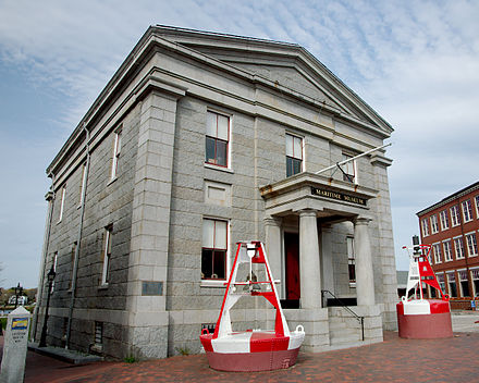 The Custom House Maritime Museum in Newburyport.