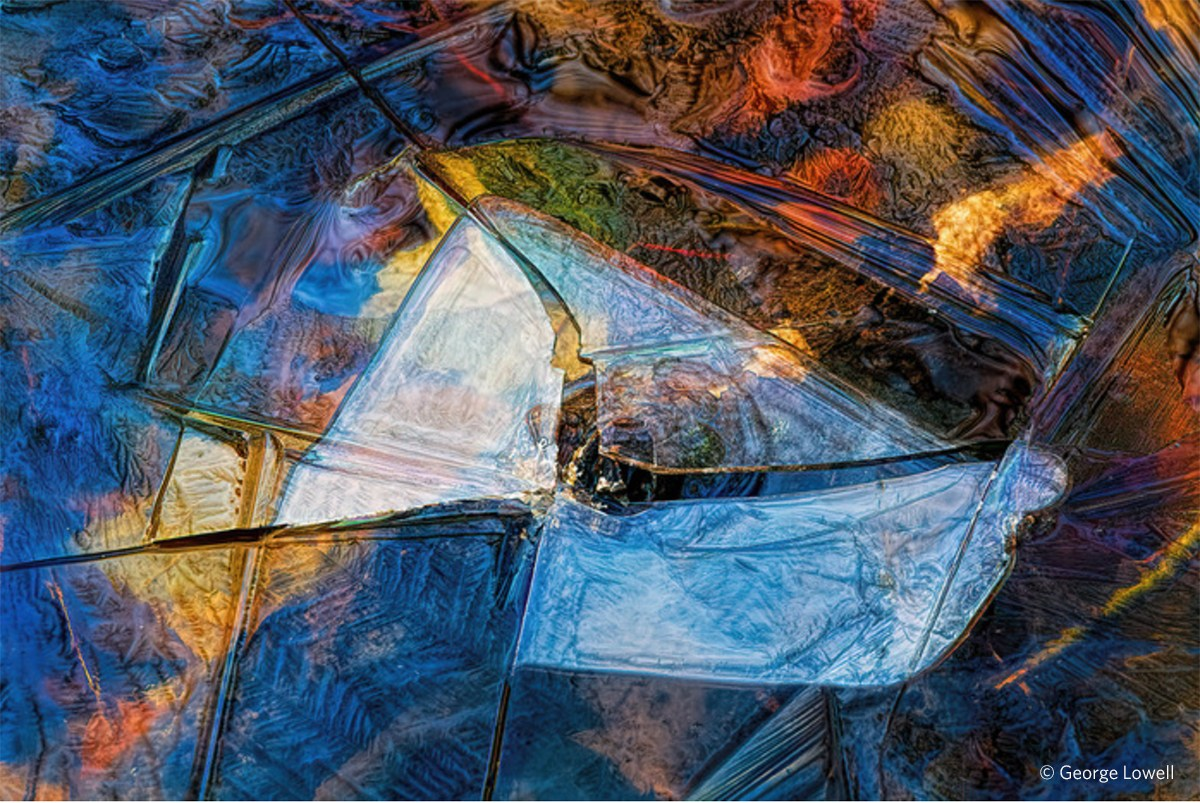 """""""Shattered,'' by George Lowell, of Moosup, Conn., in the show """"6th International Open Call,'' at the Rhode Island Center for Photographic Arts, Providence, Feb. 21- March 15."""
