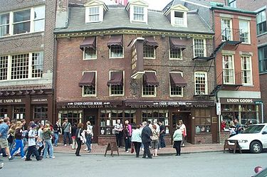 At least the Union Oyster House, near City Hall, in Boston, is still open, at it has been since 1826.