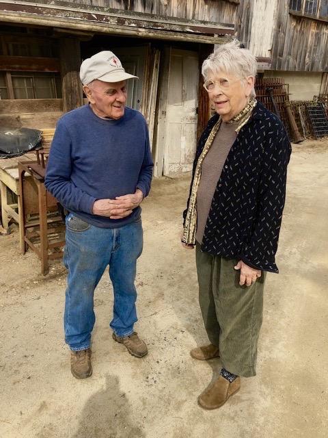 Rudy Rzeznikiewicz and Carolyn Morgan