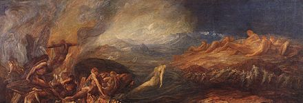 """Chaos,'' by George Frederic Watts."