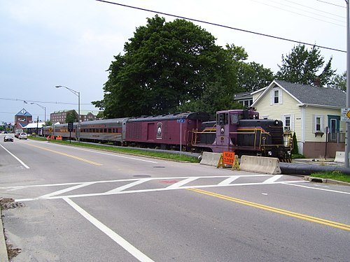 The Newport Dinner Train back in 2009.