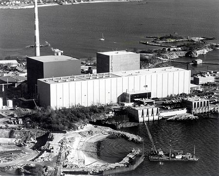 The Millstone Nuclear Power Plant, on Long Island Sound