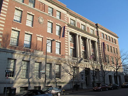 Main building of the Benjamin Franklin Institute of Technology
