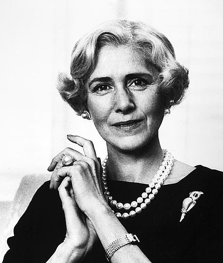 FDR nemesis Clare Booth Luce, famous wit.