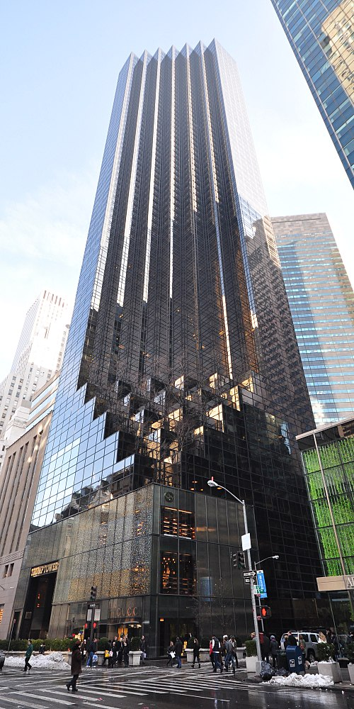 Trump Tower, at 721 Fifth Ave., in Manhattan