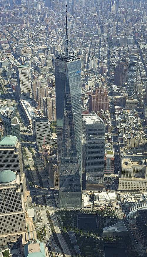 The new World Trade Center, in Lower Manhattan